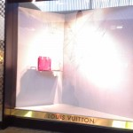 Store windows in Dallas: Getting Caught at Louis Vuitton Web
