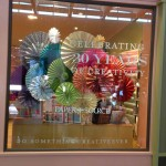 Store windows in Dallas: Paper Source