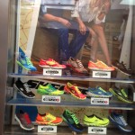 Store windows in Dallas: Skechers