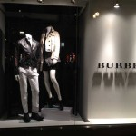 Store Windows in San Francisco: Burberry