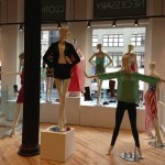 A Display of Abstract Mannequins