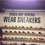 "Converse ""Shoes are Boring, Wear Sneakers"" Wall"