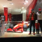 Store Windows in San Francisco: Ferrari Store
