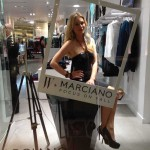 Store Windows in Dallas: Living Mannequins at Marciano