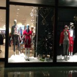 Christmas Store Windows: J. Crew at Northpark