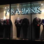 Store Windows in Dallas: Jos A. Banks