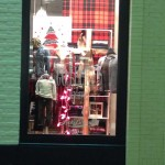 Christmas Store Windows: Lucky Brand at Northpark