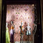 Store Windows at Bergdorf Goodman: Naeem Khan and Mary Katrantzou