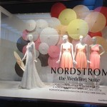 Store Windows in Dallas: Pop in @Nordstrom & The Wedding Suite