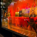 Store Windows at Bloomingdale's: Michael Kors Accessories