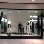 Store Windows in Dallas: Bebe at the Galleria Dallas