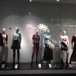 Store Windows in Dallas: H&M at the Galleria