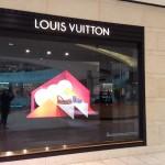 Store Windows in Dallas: Louis Vuitton at Galleria Dallas