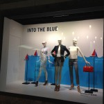 Store Windows at Nordstrom: Into the Blue