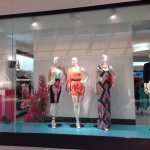 Store Windows in Dallas: bebe at the Galleria