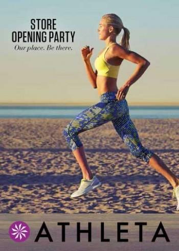 athleta dallas store opening