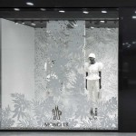 Store Windows in Milan: Moncler