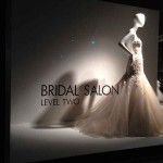 Store Windows at Neiman Marcus:  Bridal Salon