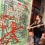 Jason Pomeranc Hosts a Graffiti Night at SIXTY Soho