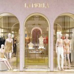 #FlashbackFriday: La Perla Boutique at South Coast Plaza in Costa Mesa, CA