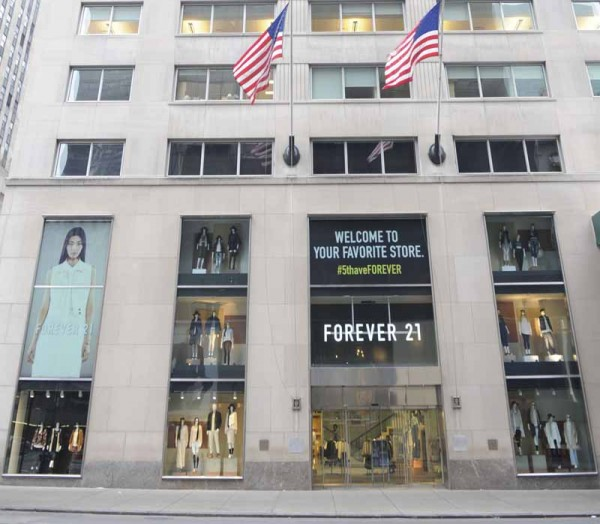 Forever 21 on Fifth Avenue