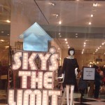 Kate Spade Sky is the Limit Store Window #TBT