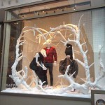 Traffic Los Angeles Christmas Store Window #TBT