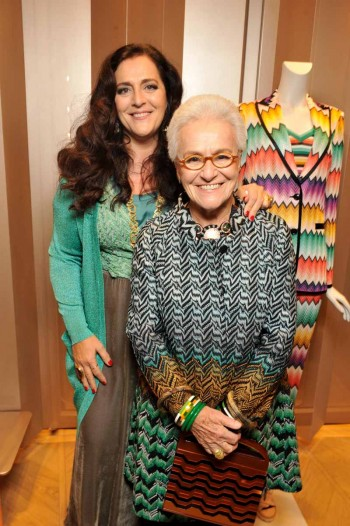 Angela Missoni & Rosita Missoni