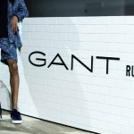 The Set of Gant Spring 2016 Presentation