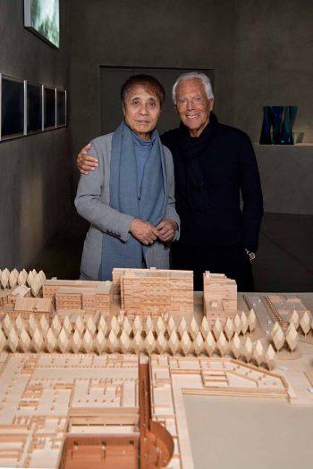 Giorgio Armani & Tadao Ando